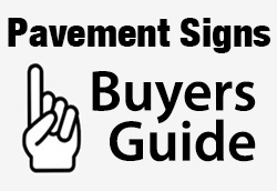 Pavement signs buyers guide