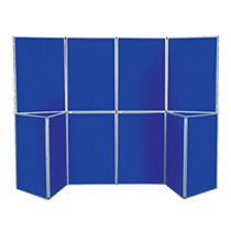 Podular Panel Display Board Stands