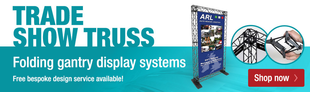 Gantry truss display systems