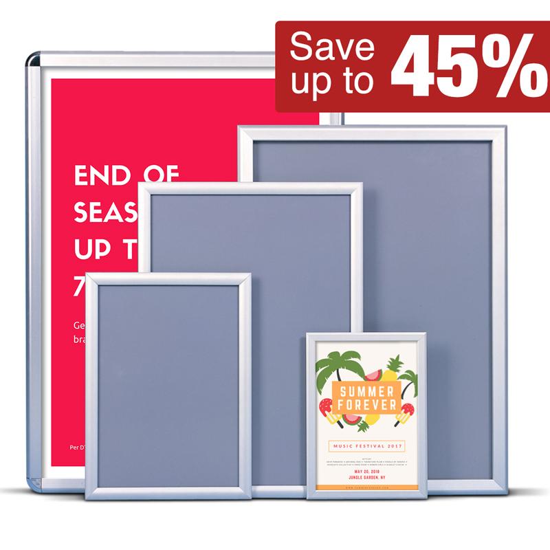 Poster frames offer