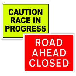 Pre-Designed Event Signs