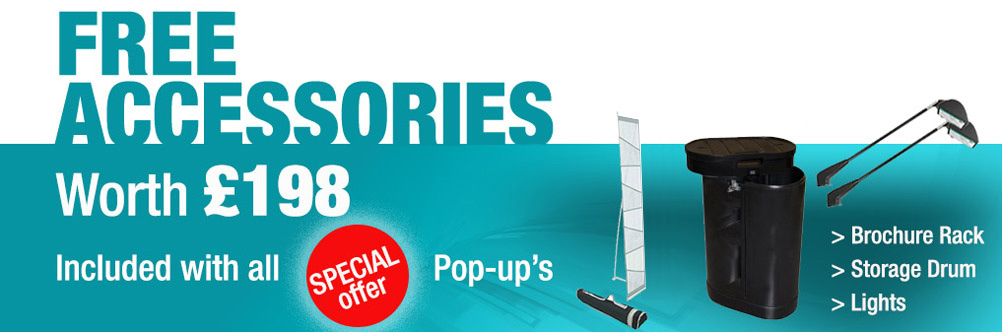 Pop Up Stand Special Offer