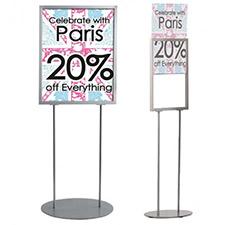 Floor Standing Poster Holders