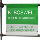 Scaffolding builders banners