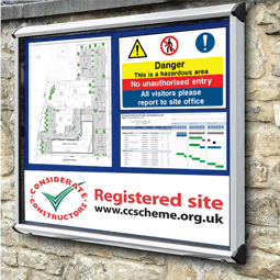 External Site Notice Boards