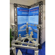 gantry display for event showcase