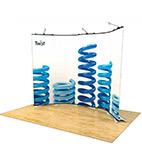 Twist Display Stands