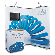 Twist Display Stands