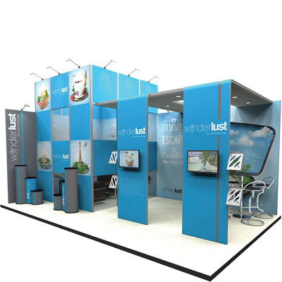 Browse & Customise a Pre-designed Stand