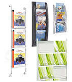 Wall Mounted Literature Displays
