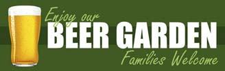 Pubs & Beer Garden Banners