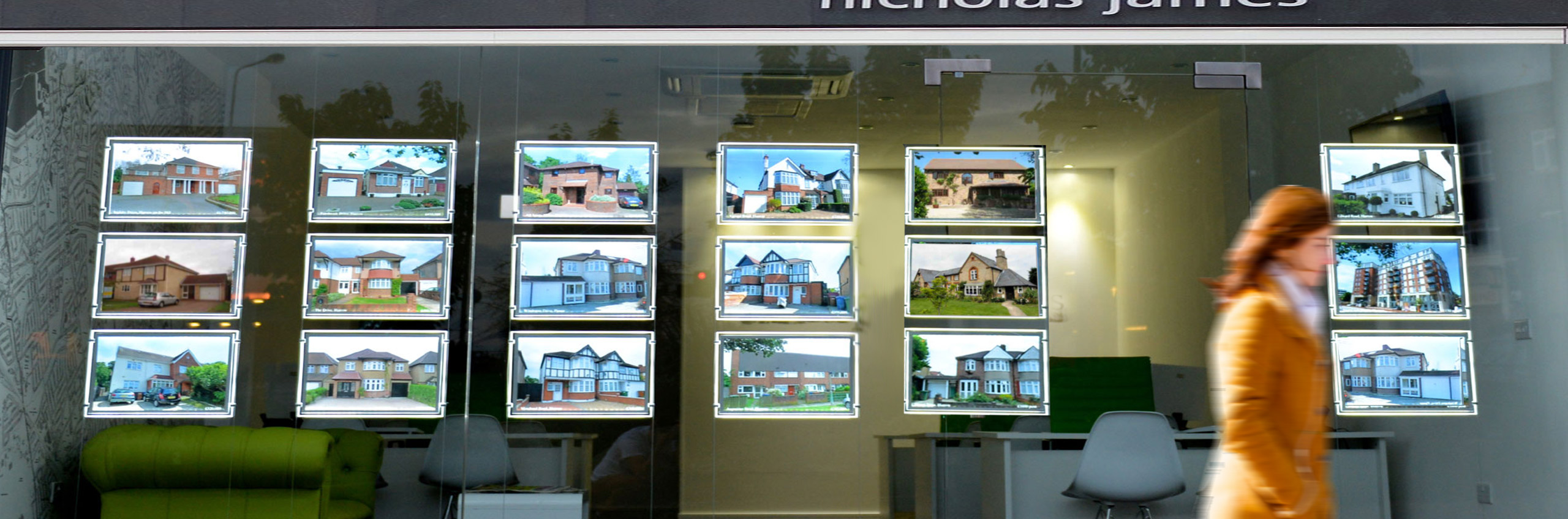 Estate Agents Signage and Displays