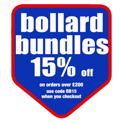 15% Off Bollard Covers