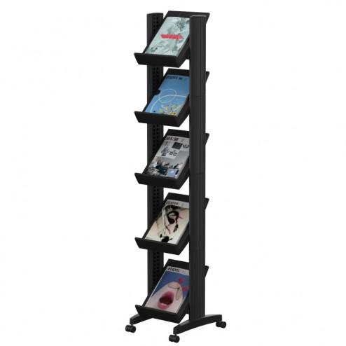 5 Shelf Brochure Stand
