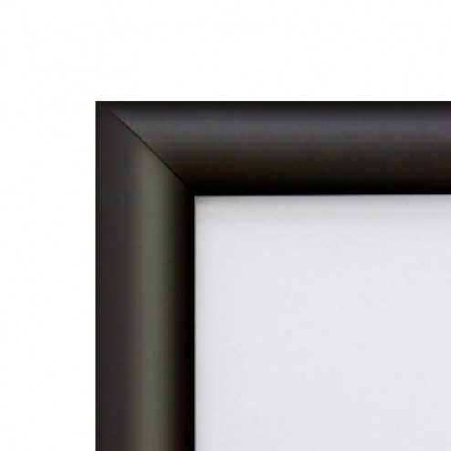 Black Security Poster Frame