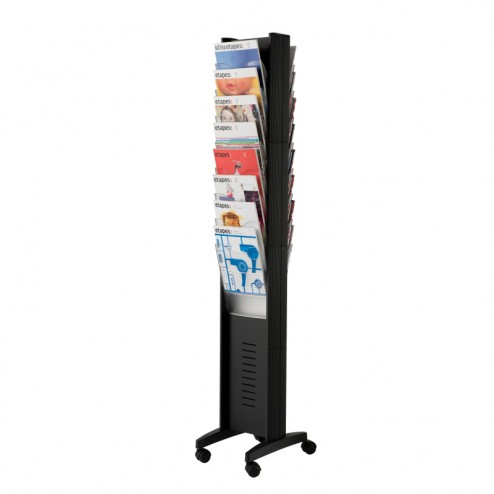 16 Pocket Floor Stand Leaflet Holder
