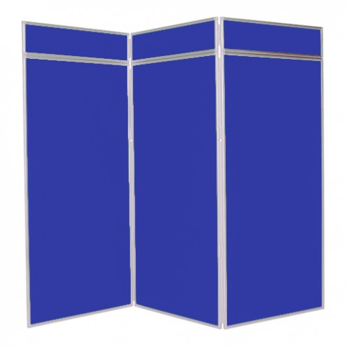 Classroom display boards - 3 Panel Jumbo Folding Display