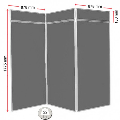 Classroom display boards sizes