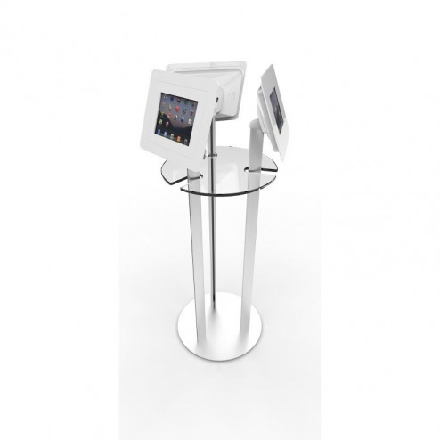 Floor Standing Lockable iPad Kiosk