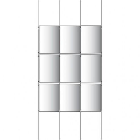 3x3 A2 Poster Holder Kit