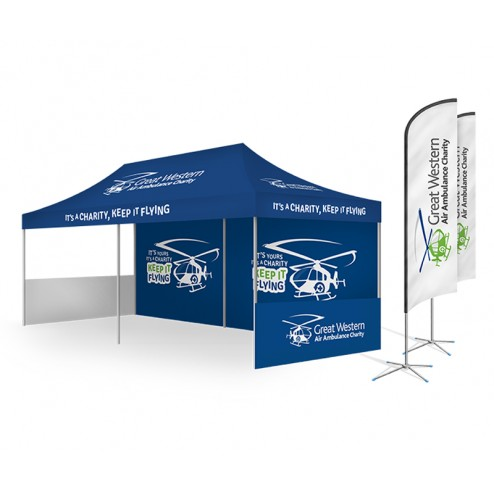 3x6m printed event tent