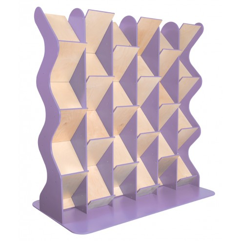 Lilac literature display