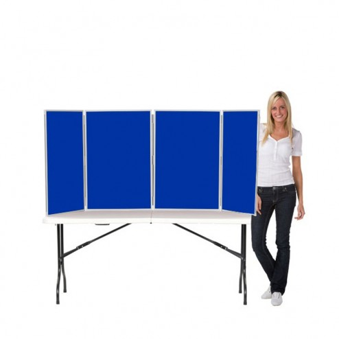 4 Panel Table Top Panel Display - Primary school displays