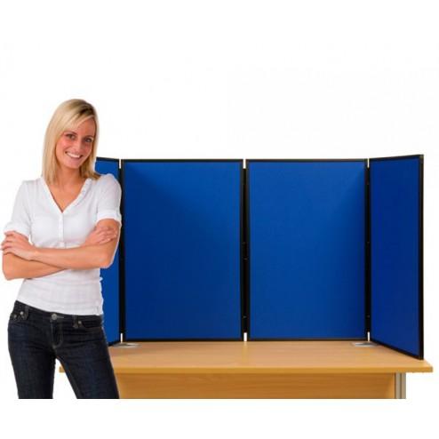 4 Panel Table Top Panel Display