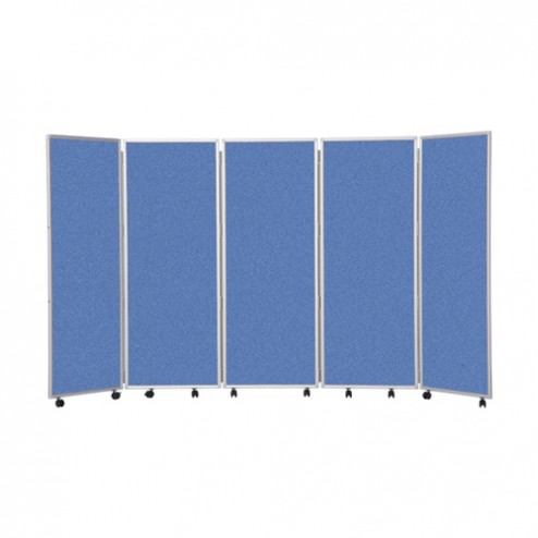 Office divider screen - blue