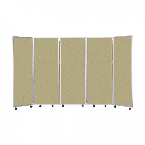 Office divider screen - beige