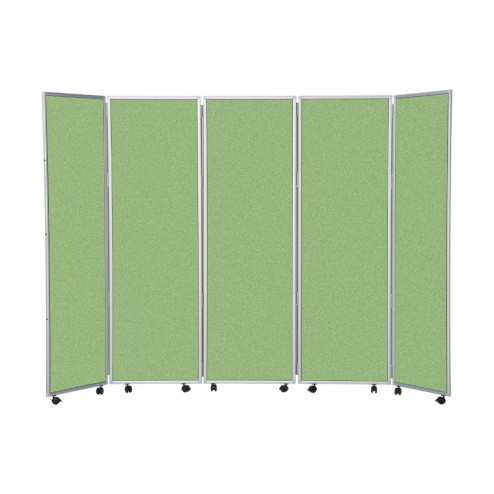 Office partitions - green