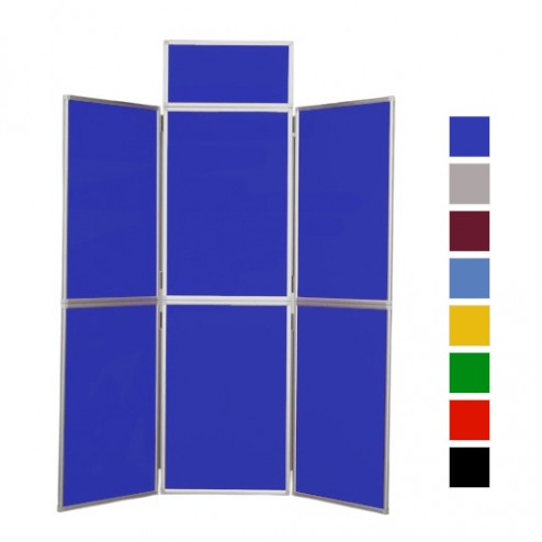6 Panel Folding Display Board