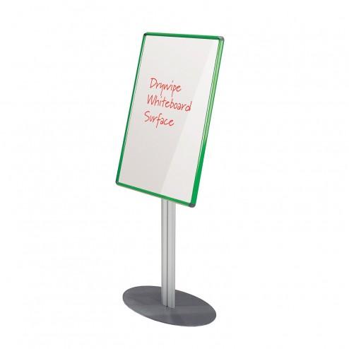 Whiteboard Notice Board - Green