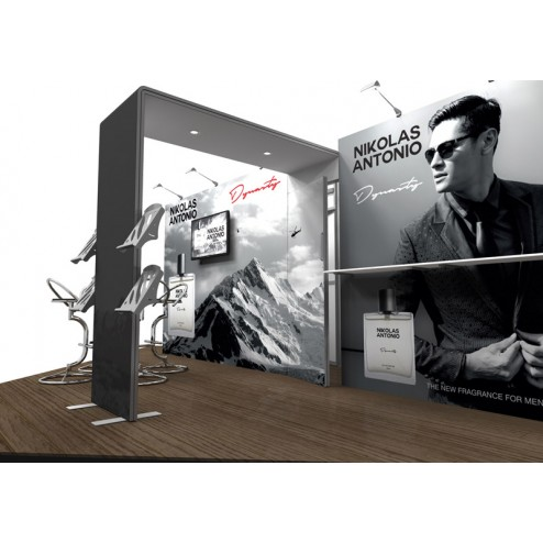 Modern 6x6m exhibition stand