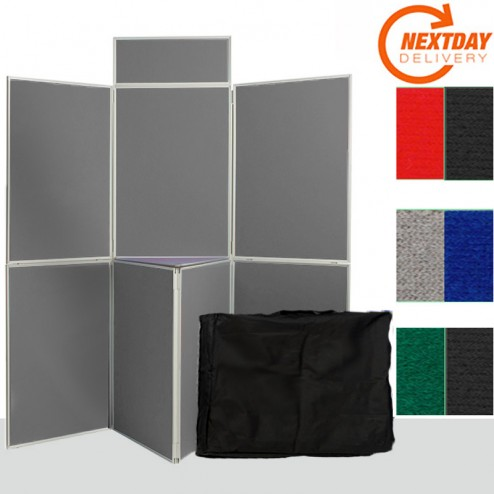 7 Panel Portable Folding Display System