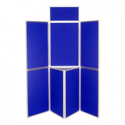 7 Panel Folding Panel Display