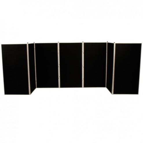 7 Panel Jumbo Slimflex Panel display system