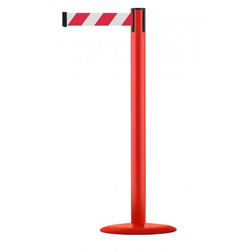 Red Post - Red / White Chevrons