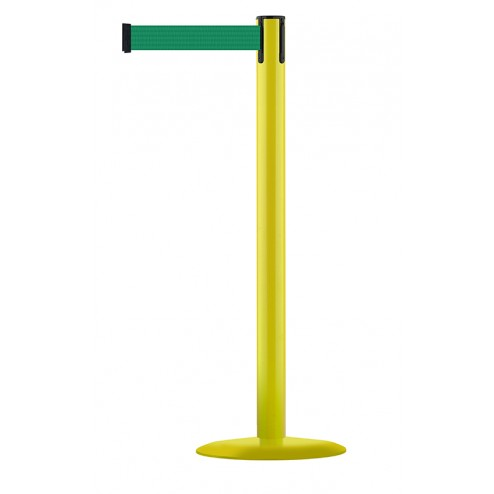 Yellow Post - Green Tape