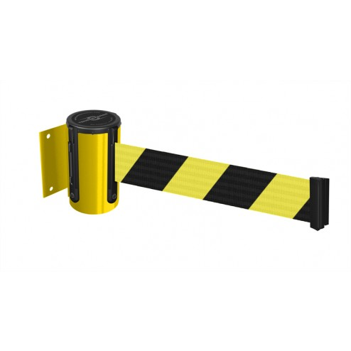 Yellow Case - Yellow/Black Chevron Belt