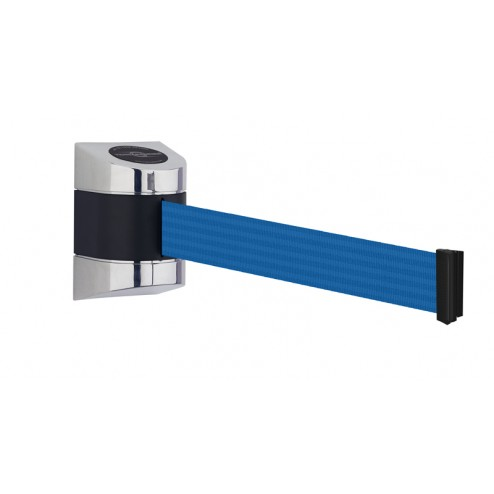 Extra long wall mounted retractable barrier