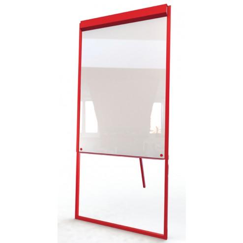 Budget free standing whiteboard