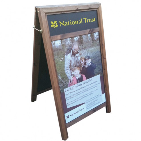 A1 A Frame Chalk Board Poster Sign Discount Displays