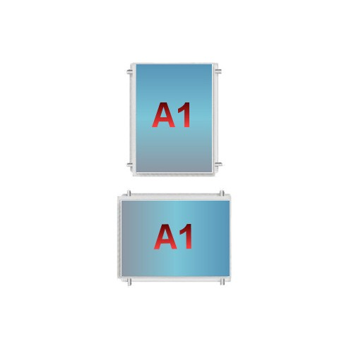 A1 Poster Pocket - Cable Display Components