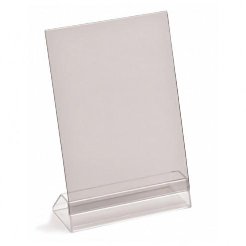 Angled menu holder