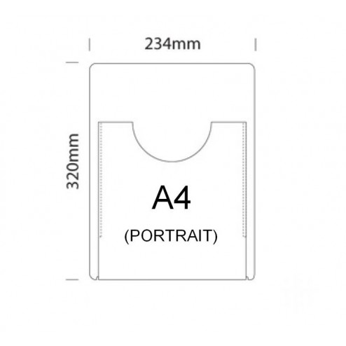 Acrylic pocket sizes