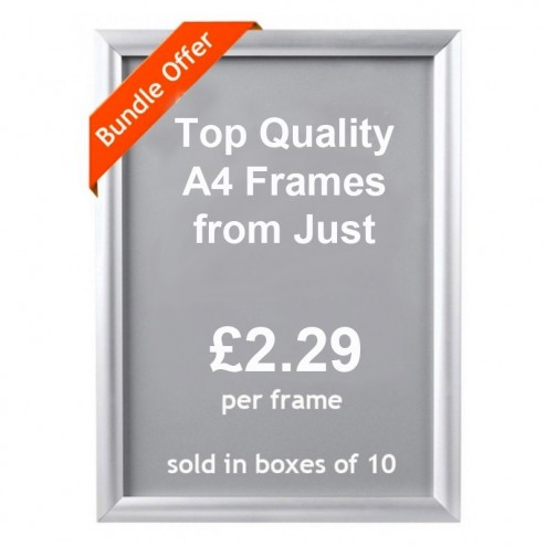 Poster Display Frames A4