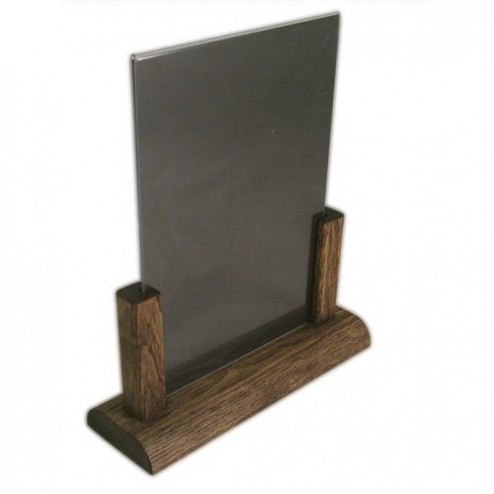 A5 Menu Holder - Dark Oak