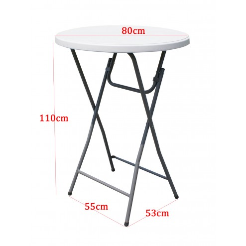 Bar table dimesions