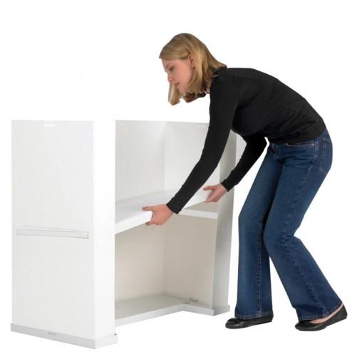 Internal shelf for storage